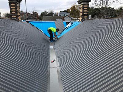 Brunswick – New Colorbond Woodland Grey Roof