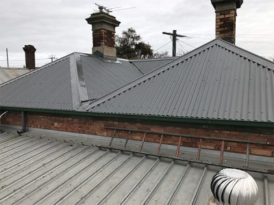 asbestos roof replacement by colorbond