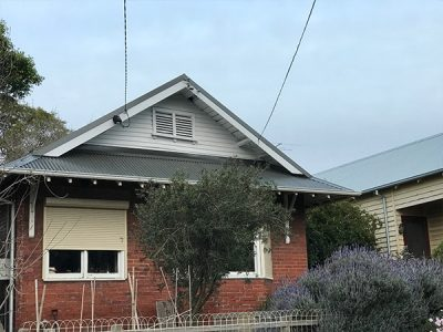 New Colorbond Woodland Grey Roof