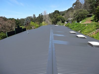 asbestos roof replaced by colorbond
