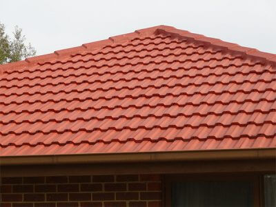 cement tiles roof