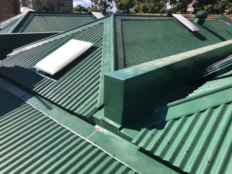 colorbond roofing in melbourne