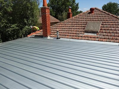 flat metal roofing melbourne