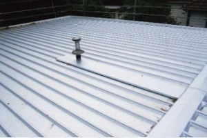 flat metal roofing service melbourne