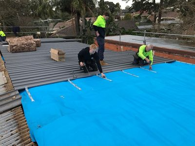 metal roof service in melbourne