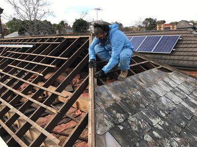 roof removal asbestos